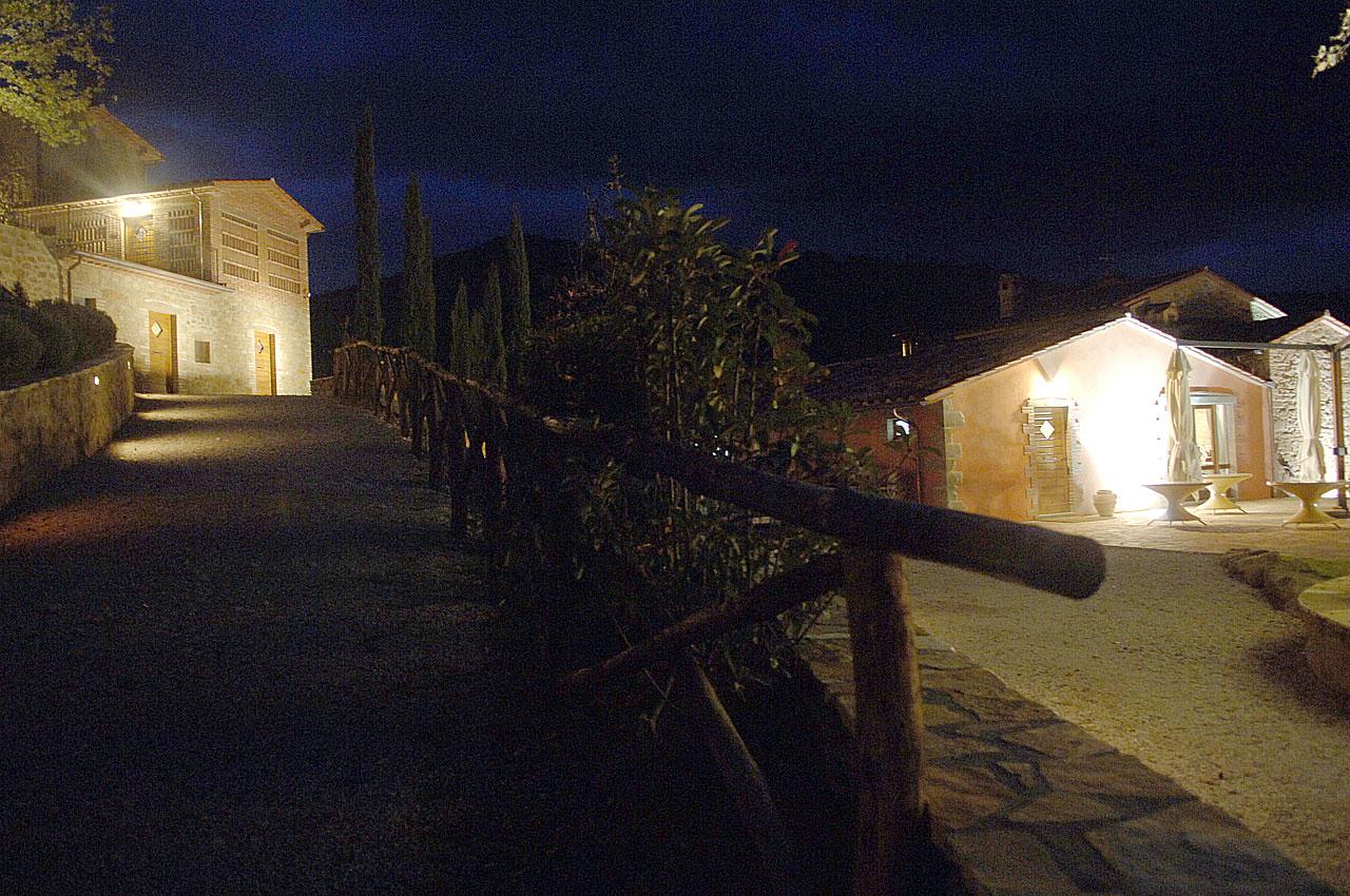 Casale Belforte - Veduta notturna