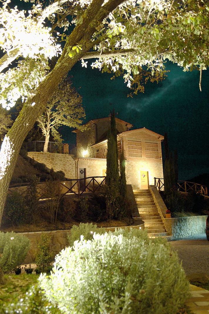 Casale Belforte - Vista Notturna